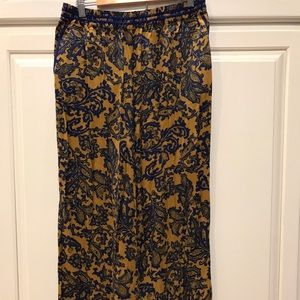 Anthropologie Palazzo Pant